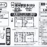 野田市山崎 運河駅 築浅一棟売アパート 全室ロフト付き
