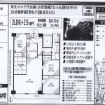松戸市大谷口 北小金駅 中古売マンション2LDK+2S 平成28/11新規リフォーム