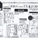 松戸市新松戸5 南流山駅 新築売一戸建 4LDK  売戸建 売家