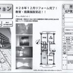 松戸市六高台7 六実駅 中古売マンション 3LDK 平成28年12月リフォーム