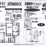 松戸市根本 松戸駅 貸マンション1R+フリーレント1ヶ月