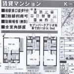 柏市東1 柏駅 賃貸マンション 1K駐車場有り(無料)