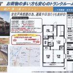 松戸市竹ヶ花 松戸駅 貸マンション3DK トランクルーム付