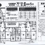 松戸市常盤平陣屋前7 新八柱駅徒歩5分 貸マンション3DK 敷金礼金0円