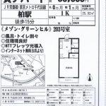 柏市松ヶ崎 柏駅 賃貸アパート1K インターネット無料