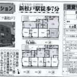 松戸市新松戸3 新松戸駅 貸マンション2DK