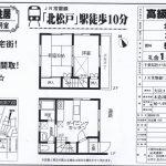 松戸市上本郷 北松戸駅 賃テラスハウス2LDK