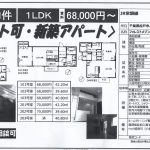 松戸市八ヶ﨑4 馬橋駅 新築貸アパート1LDK ペット可