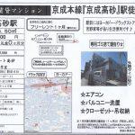 葛飾区高砂2 京成高砂駅徒歩4分 貸マンション1R 敷金礼金0円