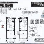 足立区南花畑2 六町駅 貸マンション1DK 敷金礼金0円