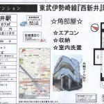 足立区栗原1 西新井駅 貸マンション1K
