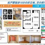 松戸市子根本 松戸駅 貸マンション2DK 敷金礼金0円
